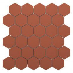 Carreaux 5.5X6.3 cmcouleur brique GRESen grès-cérame pleine masse full body.     Carrelage...