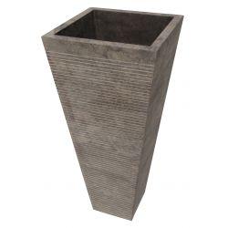 Lavabosur pied en pierre   Chaque pièce est unique   DURCALNEGRO