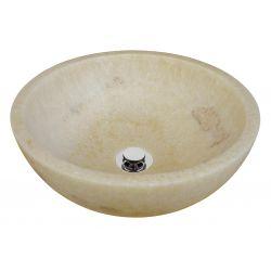 Lavabo en ONIX. Vasque en pierre.   Chaque pièce est unique   ONIX