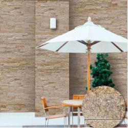 Plaquette de parement en pierre naturelle.   Habille vos murs pour un résultat optimum.   Ce...