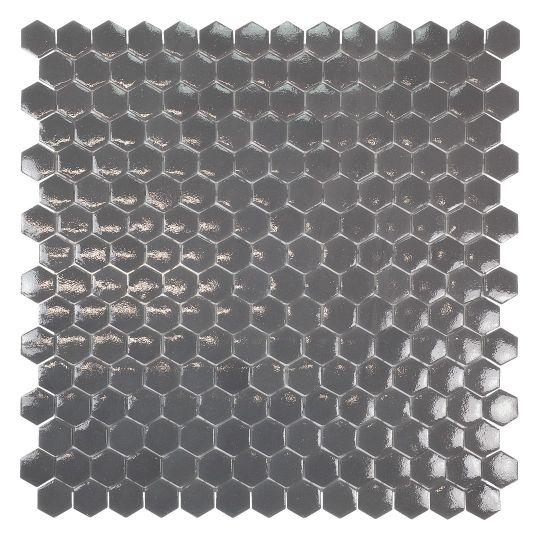 mosaÏque mini tomette hexagonale grise