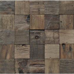 Parement en bois, idéal pour habiller les murs dans les pièces à vivre.   Bois de récupération...
