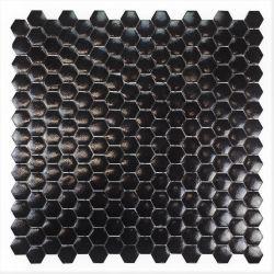 Mini tomette en émaux de verrenoir mat.   Très tendance cet article s'utilise au sol comme au...