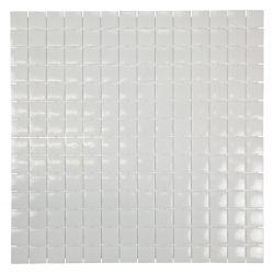 Carreaux enémaux de verre blancbrillant.   Très tendance cet article s'utilise au sol comme au...