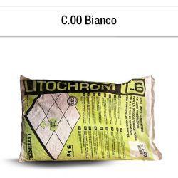 BIANCO   Mortier à base de ciment aux prestations élevées pour le jointoiement de joints...