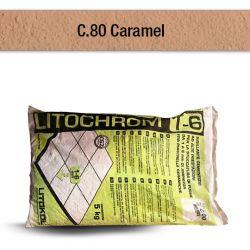 CARAMEL   Mortier à base de ciment aux prestations élevées pour le jointoiement de joints...