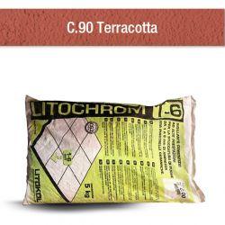 TERRACOTTA   Mortier à base de ciment aux prestations élevées pour le jointoiement de joints...