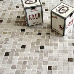 Mosaïques de 2,5x2,5 cm marbre et émaux de verre.     Idéal pour embellir les salle de bain et...