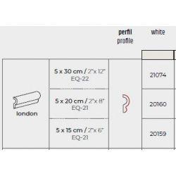 Frise moulure déco format 5x20 BLANC BRILLANT   Modèle qui s'adapte à toutes vos pièces de vie....