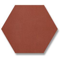 Carreaux 10x11,5 cmrouge brique en grès rouge. Chaque coté fait 5,8 cm.    Dans les...